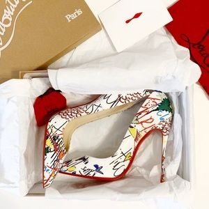 NIB So Kate Graffiti Christian Louboutins